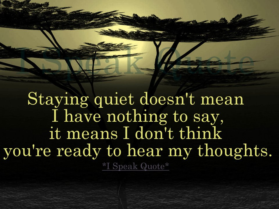 Keep Silence Quotes Silence Quotes Keep Quiet