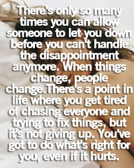 Things Change People Change Deborah Tindle