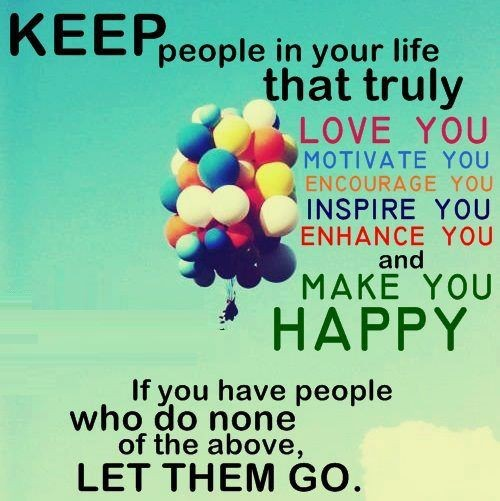 Quotes About People Who Notice: Let Go Of Negative People